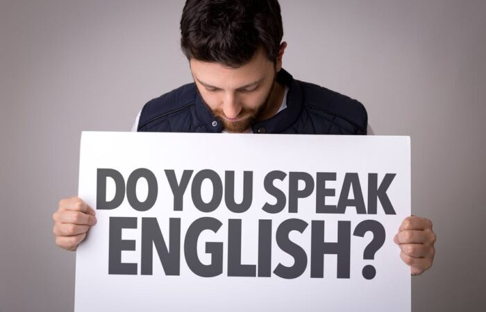You will be judged if you can't speak English