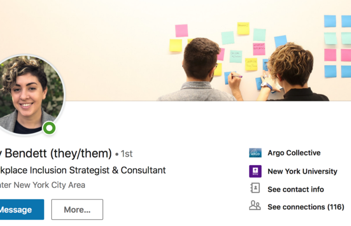 LinkedIn now lets you add pronouns to your profile